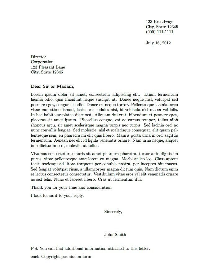 Business Letter Template 38 Free Word Pdf Documents Download ...