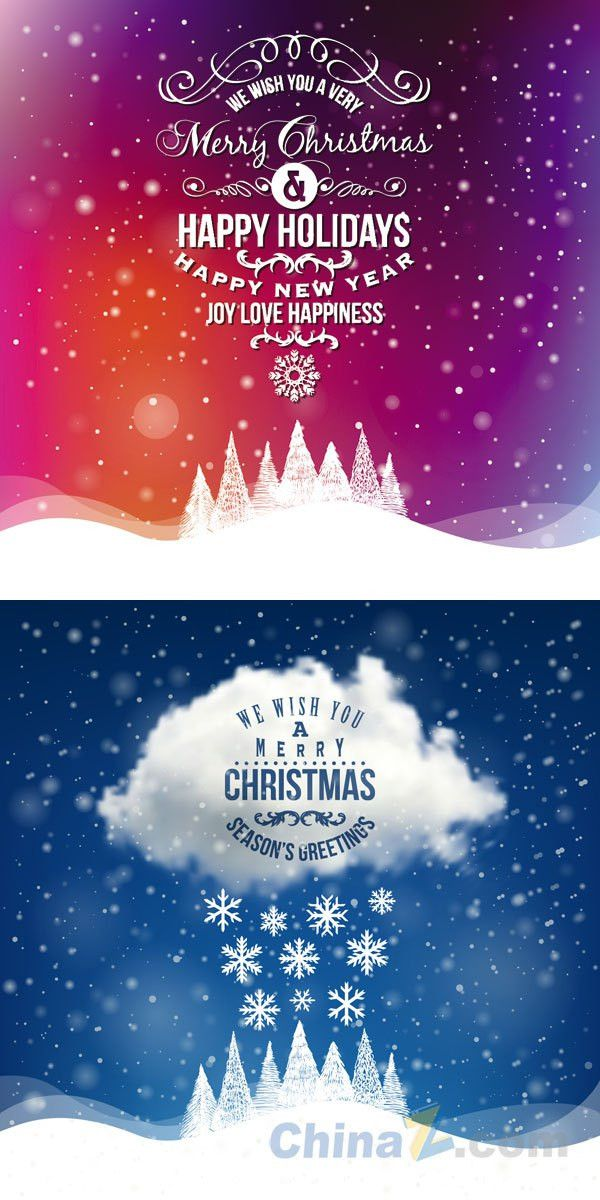 Christmas Poster | Free VECTOR GRAPHIC Download, Free PSD, ICONS, PNG