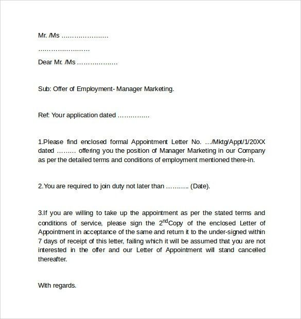 Employment Cover Letter - CV Resume Ideas