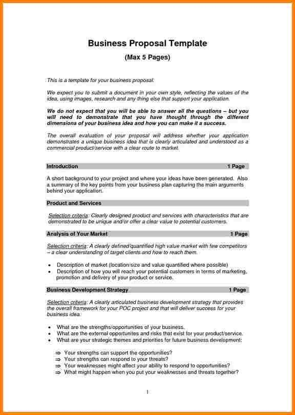 Service Proposal Template. Free Consultant Proposal Template ...
