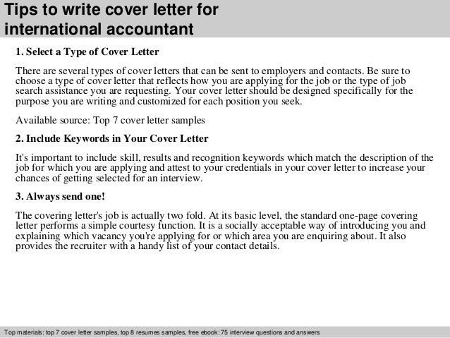 examples of cover letters for accounting