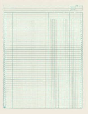 Ledger Paper Template. Image Titled Write An Accounting Ledger ...