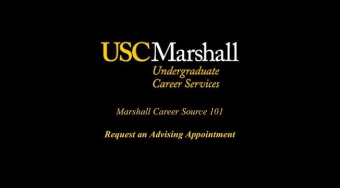 Marshall Career Source | USC Marshall