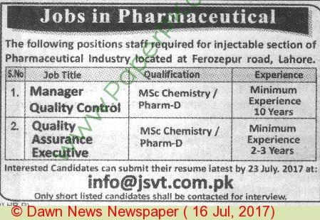 Executive Housekeeper Jobs In Lahore | MaloMaaL (JOBS Marketing ...