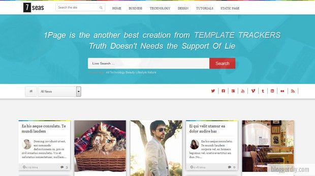 60+ Free Responsive Blogger Templates
