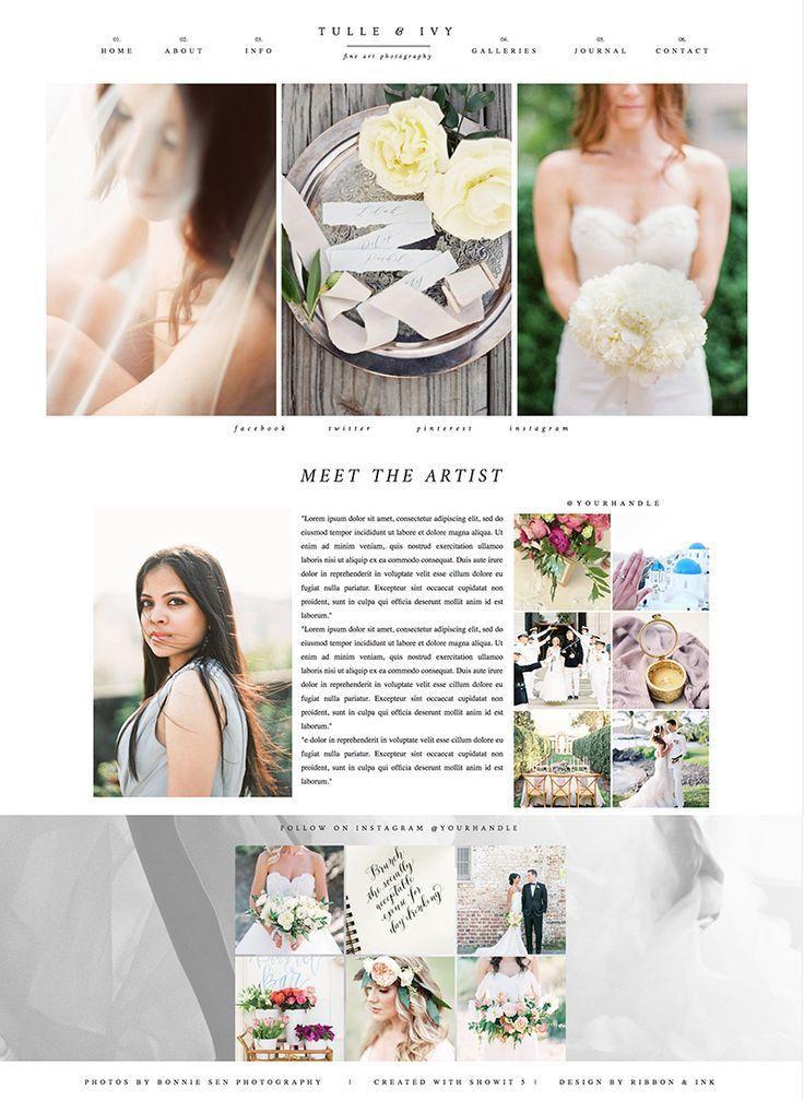 16 best Showit 5 Website Templates images on Pinterest | Website ...