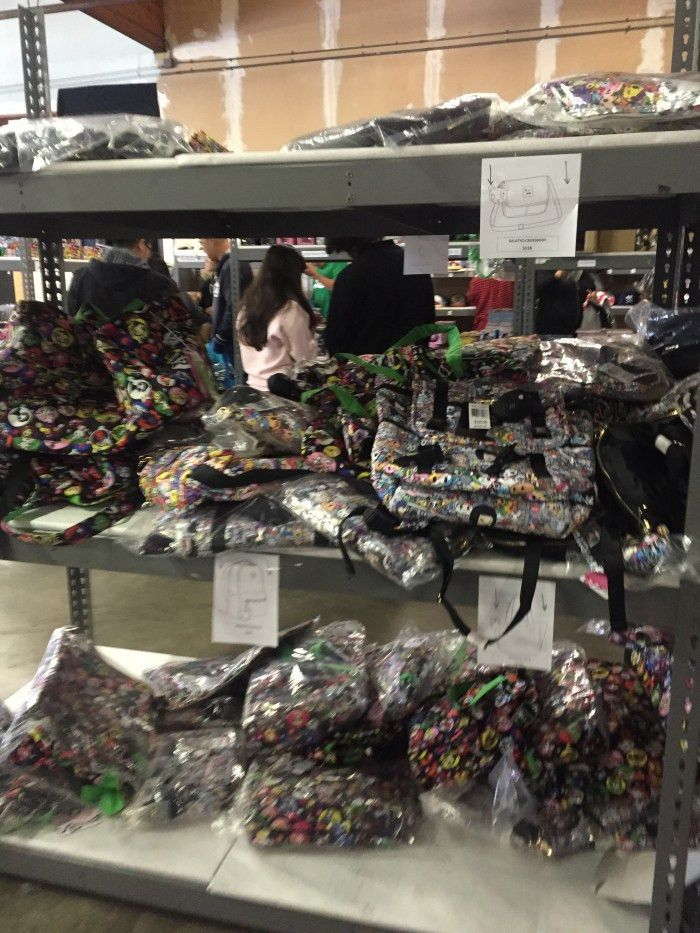 REVIEW: Tokidoki Spring 2015 Warehouse Sale   Handbag Honey