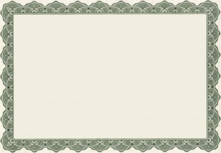 Blank Award Template Design with Stunning Pattern : Thogati