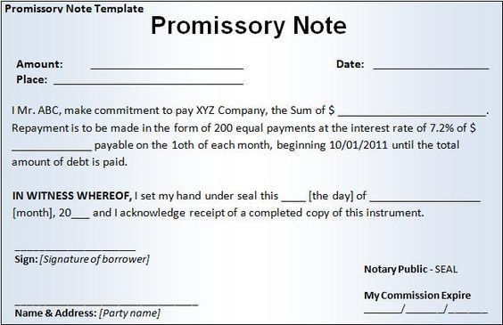 Demand Promissory Note. Promissory Note (Secured - Amortized ...