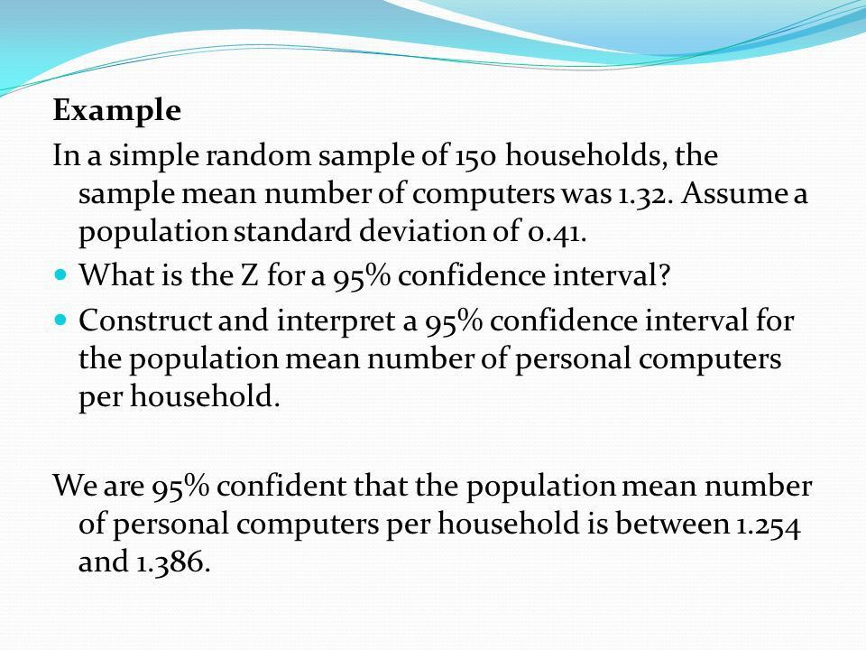 IV. Inferential Statistics B. Confidence Intervals - ppt video ...