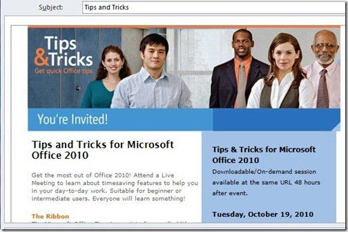 Use Outlook OFT files to prepare mails for others to send – The ...