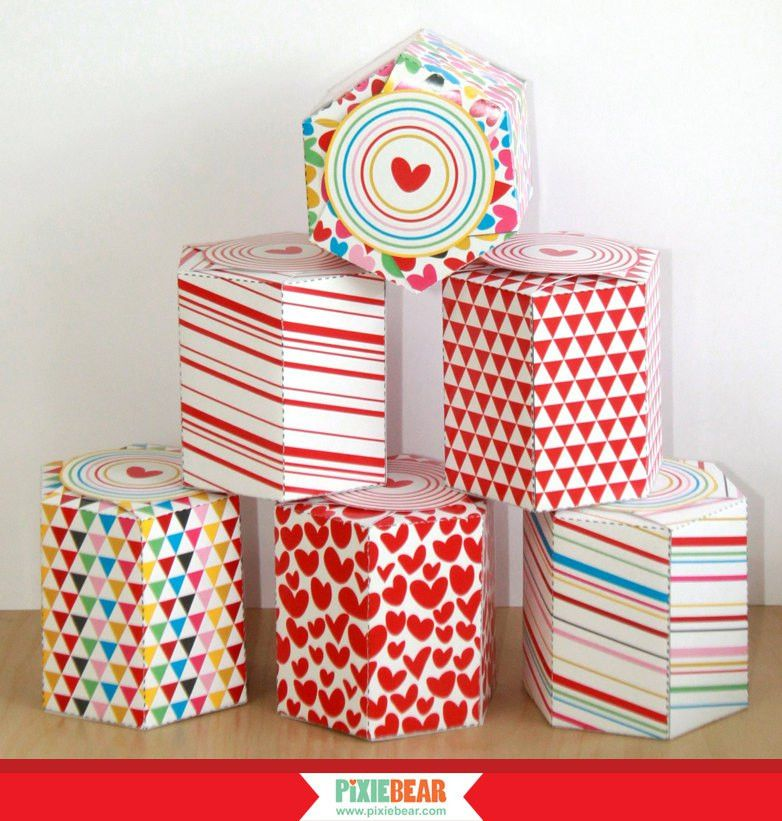 Favor Box Templates with Free Printable Gift Stickers Gift