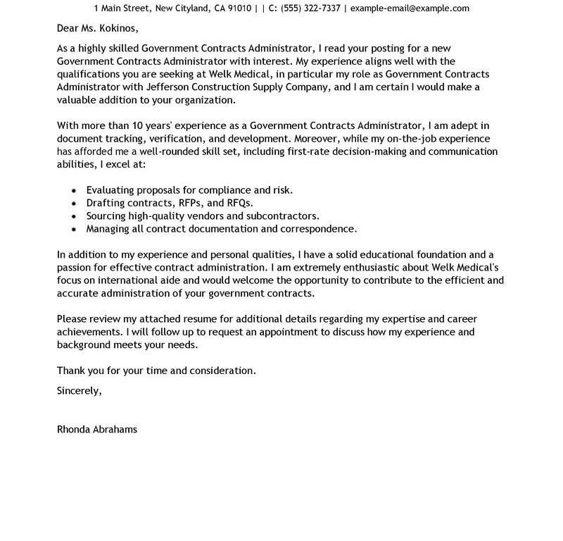 Classy Design Ideas Cover Letter Example For Resume 11 Best ...