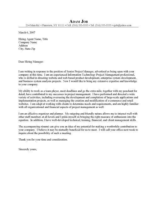 Health Policy Analyst Cover Letter