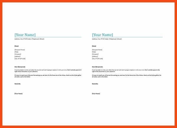 word letterhead template | program format