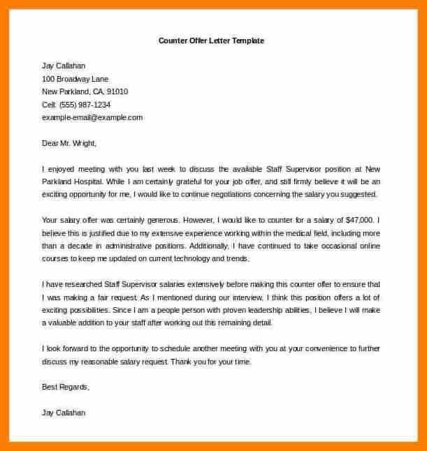 Offer Letter Example. Job Offer Letter Example Sample Job Offer ...