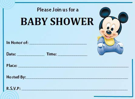 Free Printable Baby Shower Invitations Templates For Boys #13538