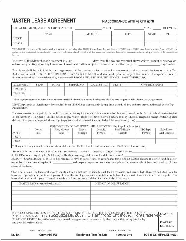 20+ Lease Agreement Templates - Word Excel PDF Formats