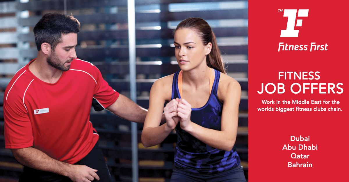 Fitness First Recruitment - Job Offers | All United Sports