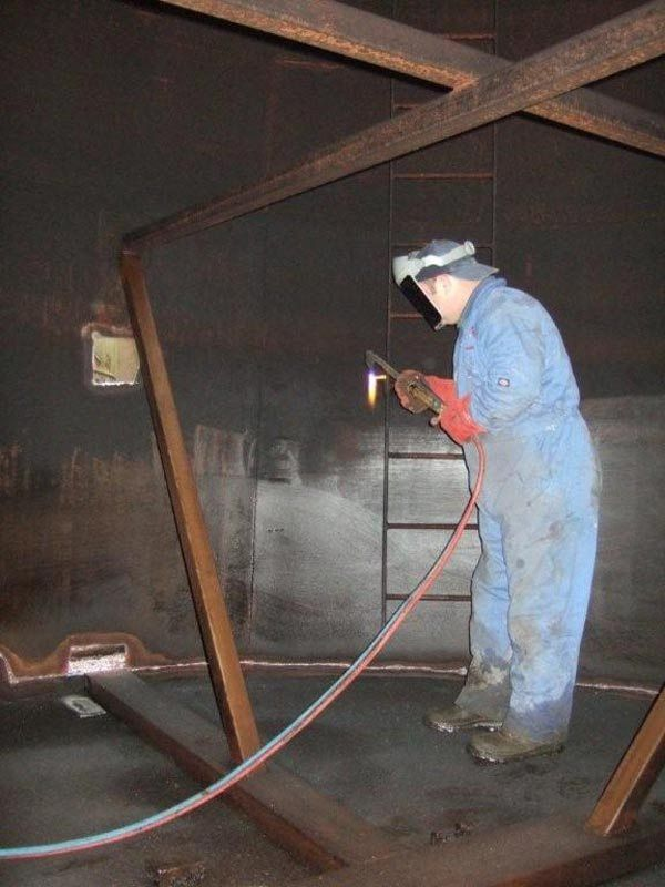 oil tank cleaning oil tank cleaning procedure oil tank cleaning ...