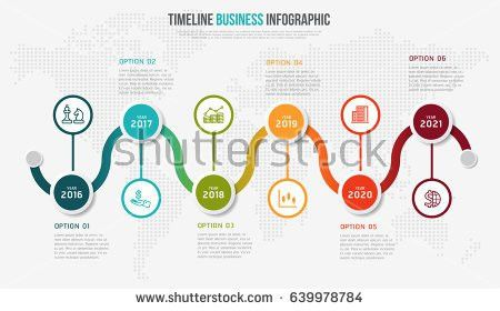 Vector Infographics Timeline Design Template 3d Stock Vector ...