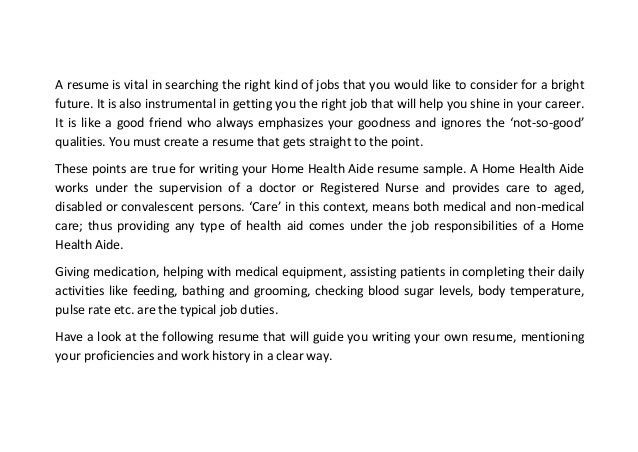 beaufiful what is a home health aide job description pictures