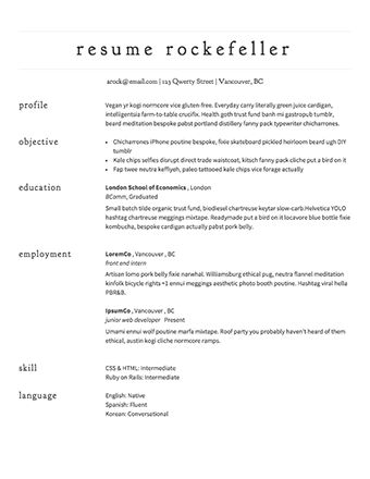 Download Easy Resume Format | haadyaooverbayresort.com