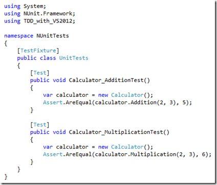 Tutorial] Test Driven Development with Visual Studio 2012 <br ...