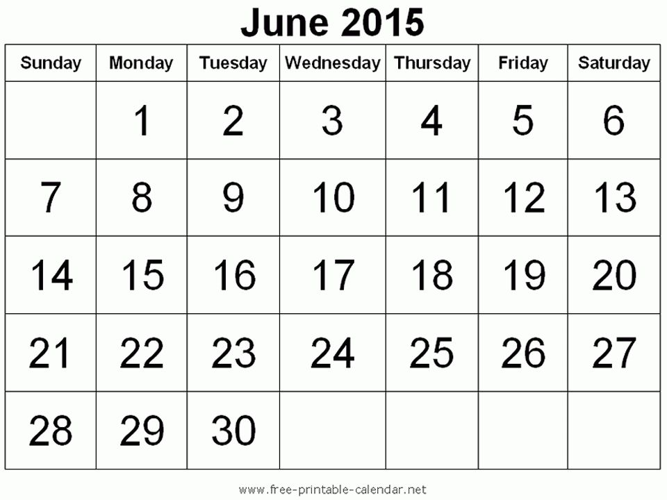 June Printables Calendars | Holidays and Observances