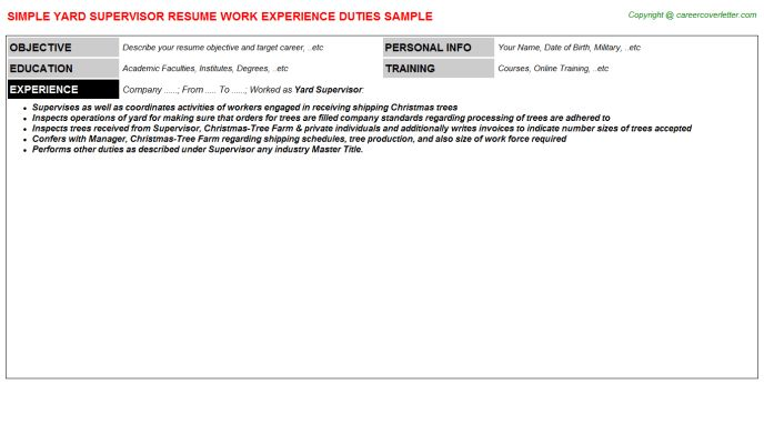 Example Resume Target Job Title - Augustais