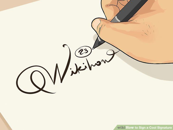The Best Way to Make a Cool Signature - wikiHow