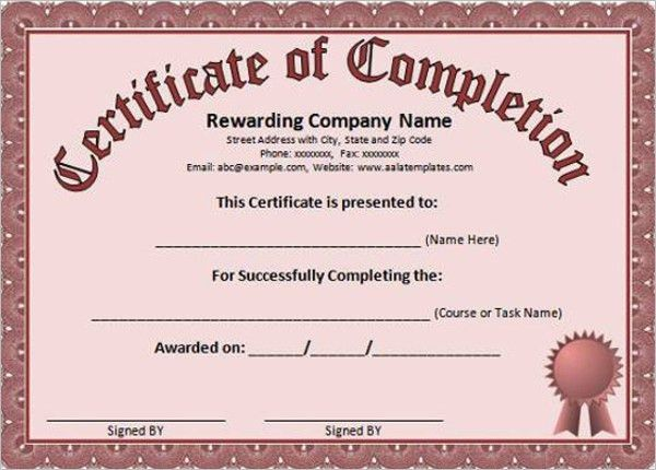 Free Printable Certificate Templates || Free Templates | Creative ...