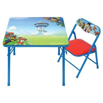 Paw Patrol Junior Table & Chair Set – Target Inventory Checker ...