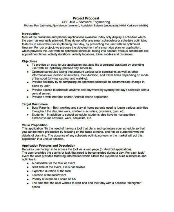 7 Engineering Proposal Templates - Free Sample, Example, Format ...