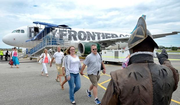 Frontier service from St. Augustine to Philadelphia resumes ...