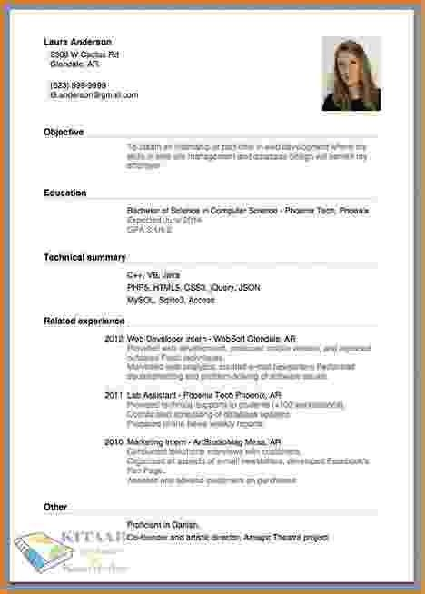 10+ how do you make a resume | bibliography format