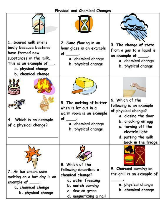 25+ best Chemical change ideas on Pinterest | Physical change ...