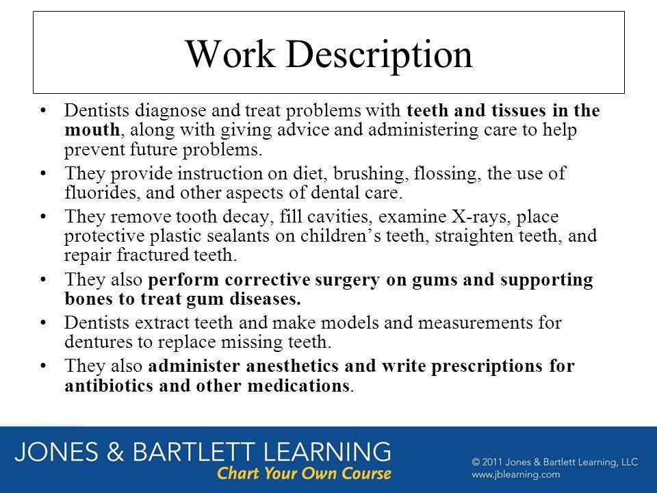 dental assistant description
