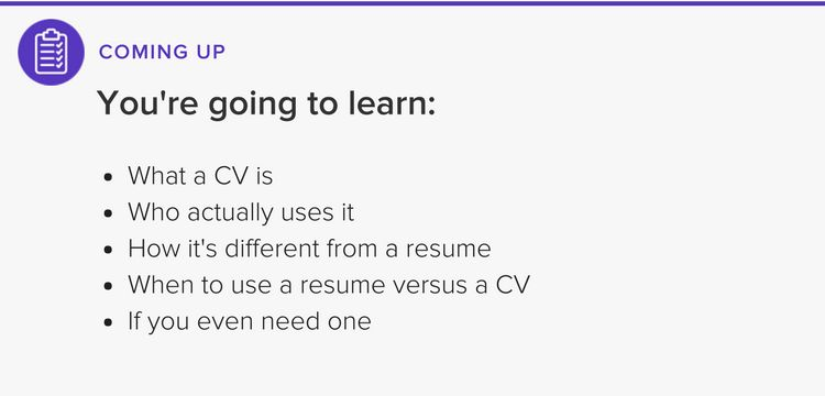 CV vs Resume - What is the Difference? | The Muse
