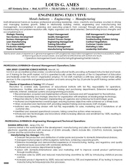 Astounding Inspiration Director Of Operations Resume 16 Director ...