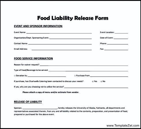 Liability Release Form Examples. Parental Consent And Liability ...