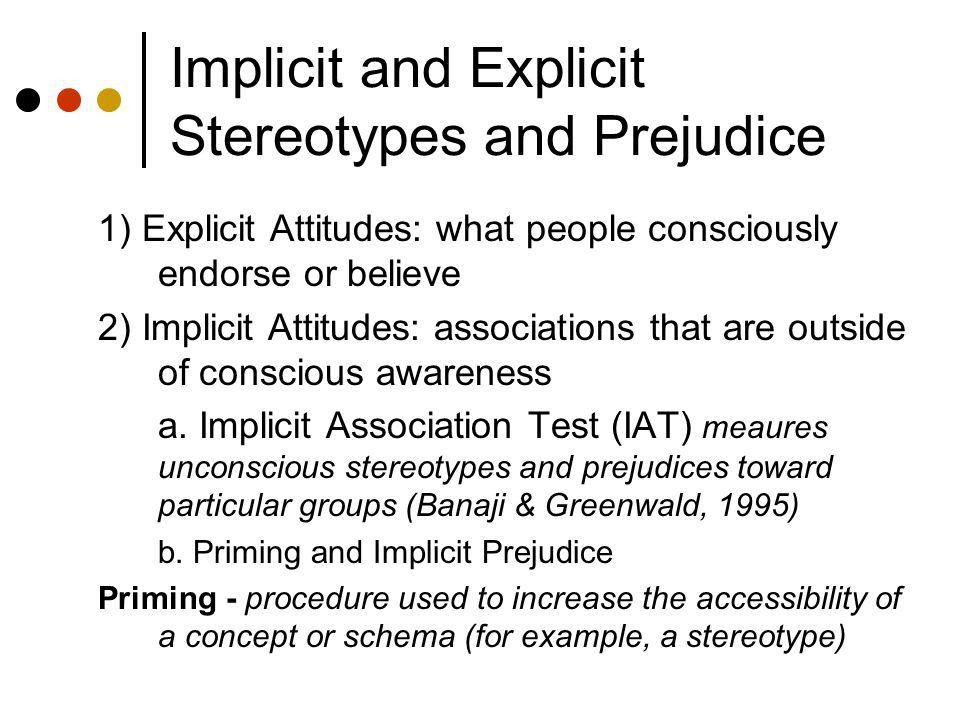 Stereotyping, Prejudice, and Discrimination. Lecture Outline ...