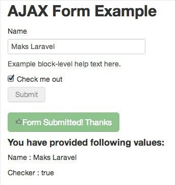 Laravel AJAX example source code - Maks Surguy's blog on PHP and ...