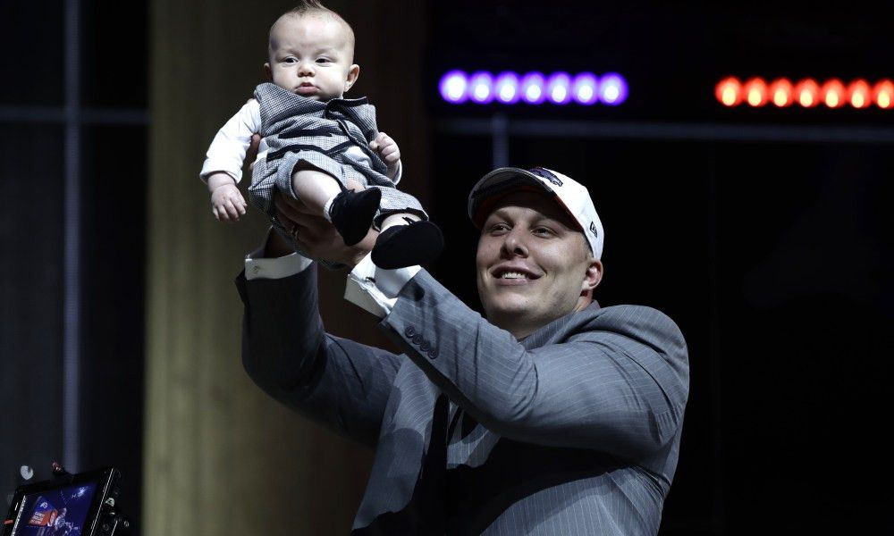 Garett Bolles' infant son was the best-dressed young man at the ...