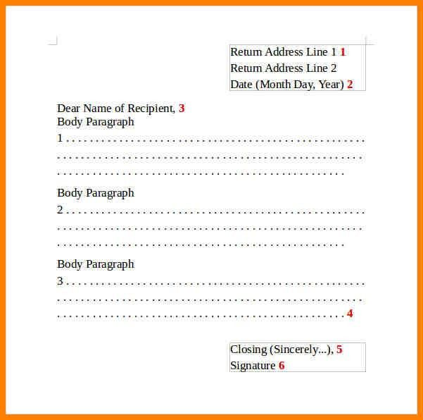 7+ english letter format informal | resume language