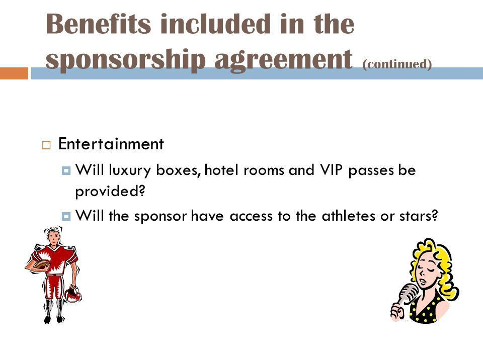 Explain the concept of sponsorship. - ppt download