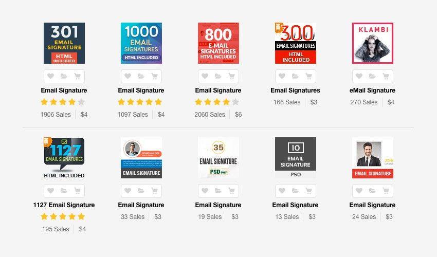 12+ Professional Email Signature Templates: With Unique Designs