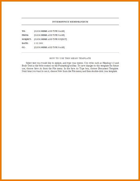 5+ memo format word | Expense Report