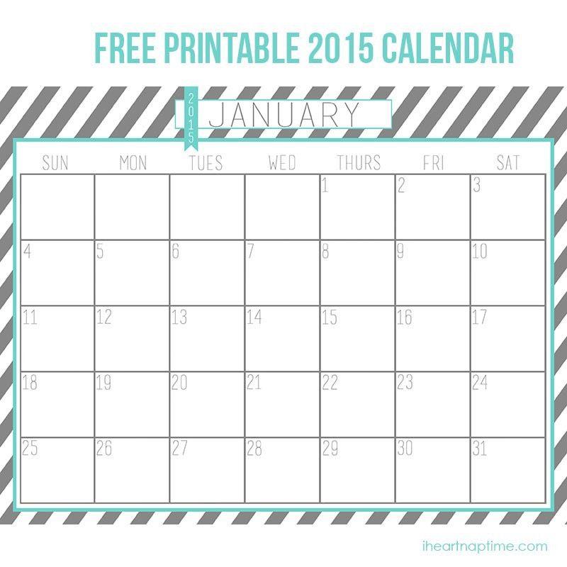 2015 Free Calendar Templates - Contegri.com