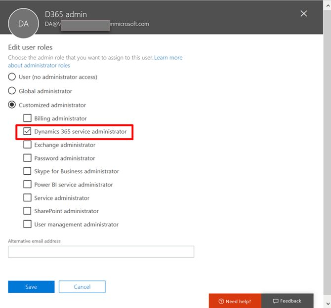 Dynamics 365 service admin role - CRM Innovation - Microsoft ...